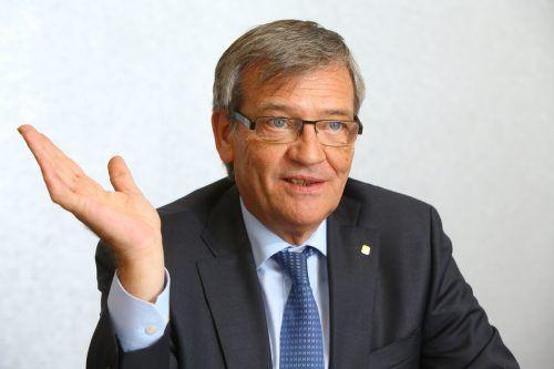 Robert Lasshofer verabschiedet sich mit Jahresende als Generaldirektor. vn