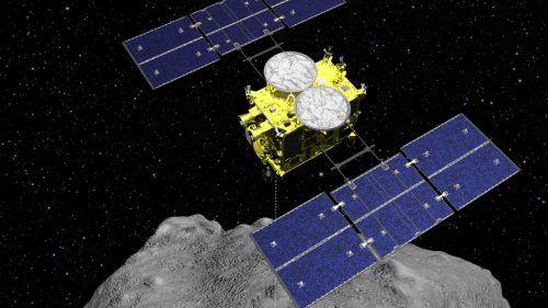 Sechs Jahre nach ihrem Aufbruch zum Asteroiden Ryugu kehrt die Sonde zurück.AP