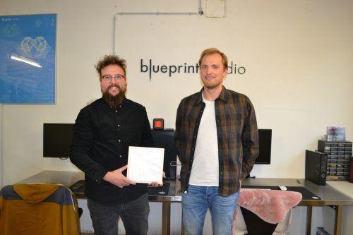 Simon Burtscher und Lukas Battisti verbindet eine langjährige Freundschaft und nun auch eine Geschäftsbeziehung.BI