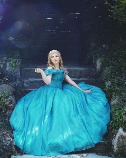 So sieht Marion List als Cinderella aus.Owaron Photography