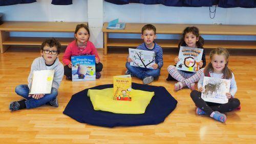 Sofija, Mirijam, Elina, Lukas und Oscar können die Bibliothek derzeit nicht besuchen ...