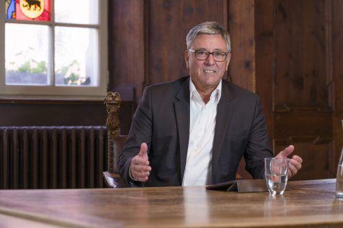 Statt der Sprechstunde lädt Bürgermeister Wolfgang Matt zum Stammtisch ein. Stadt