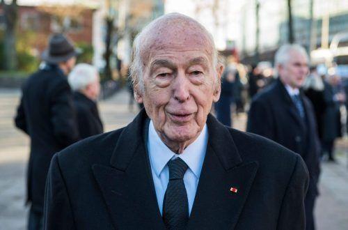 Valery Giscard d'Estaing prägte Frankreich mit seiner Politik.afp