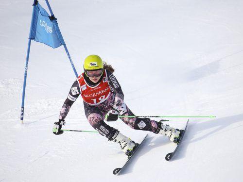 Victoria Olivier darf am Wochenende bei zwei Riesentorläufen in Hippach erstmals Europacupluft schnuppern.gepa