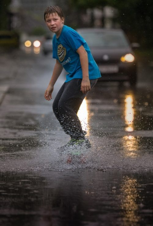 Viele Jugendliche bewerten die Aussichten in der aktuellen Situation eher wolkig als heiter. VN/Hartinger