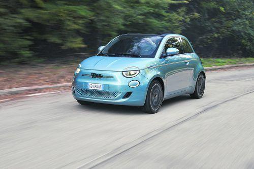 Vollelektrisch: die neue Fiat 500-Generation - ein wenig gewachsen, sehr erwachsen. Werk