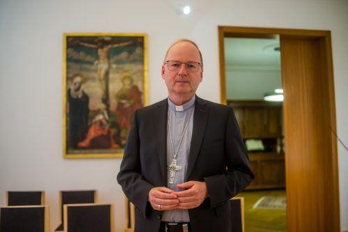 Weihnachten ist auch für Bischof Benno Elbs noch ungewiss. VN/Paulitsch