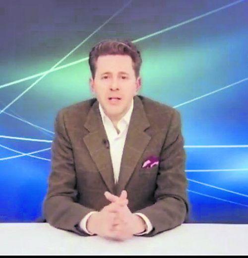 """Wirtschaftskammer-Präsident Harald Mahrer zu Gast bei """"Vorarlberg live""""."""