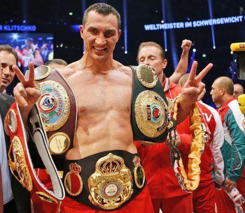 Wladimir Klitschko (44) wurde in die Hall of Fame des Boxens aufgenommen.ap