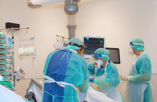 Nach dem Krankenhaus geht das Leiden für Covidpatienten oft weiter.khbg