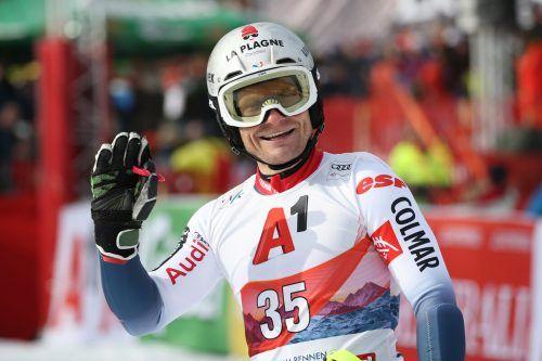 Abschied vom Weltcup: Julien Lizeroux.apa