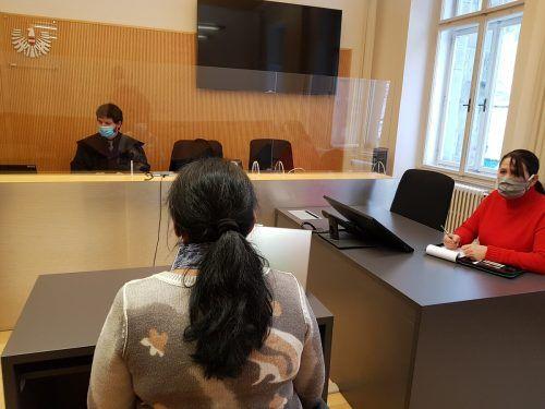 Am Donnerstag saß die Frau vor Gericht.
