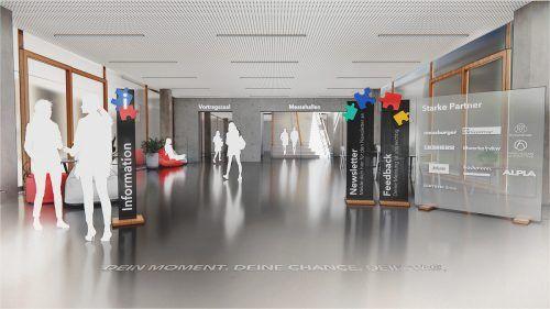 Am Freitag findet die virtuelle Jobmesse statt.Veranstalter