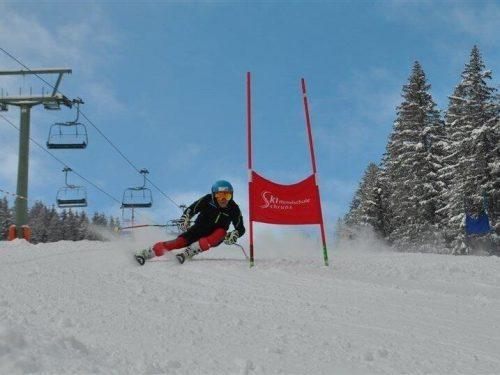 Am Montag findet das Schnuppertraining der Skimittelschule Schruns statt.Schule