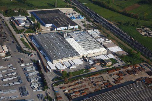 Am Standort Anagni entsteht eine Extrusionsanlage für recyceltes PET. Fa