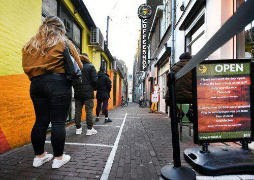 Amsterdam will mit der Maßnahme den Drogentourismus stoppen. Rts