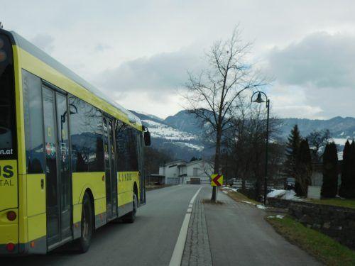 Auch der besonders verkehrsgeplagte Bereich Dürne ist Teil des neuen Koblacher Straßen – und Wegekonzepts.Mäser
