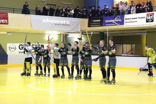 Beim Rollhockeyclub Dornbirn hofft man auf eine Fortsetzung der Saison.cth