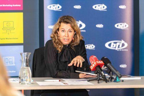 BFI-Geschäftsführerin Eva King hofft auf viele Kursteilnehmer. AK/Gorbach