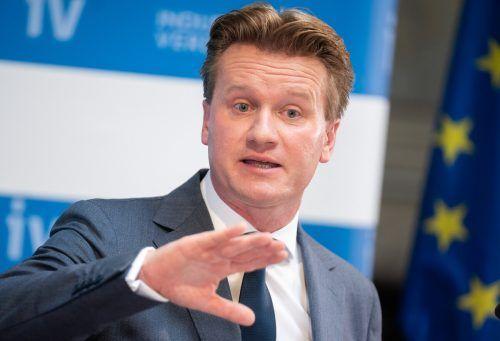 Bis zu 5,1 Prozent BIP-Zuwachs sind möglich, betont IV-Präsident Georg Knill. APA