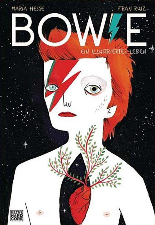 Bowie. Ein illustriertes LebenMaria Hesse, Fran RuizHeyne168 Seiten