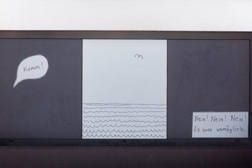 """In seiner literarischen Installation ließ Christian Futscher sich von James Joyce' Kurzgeschichte """"Eveline"""" inspirieren."""
