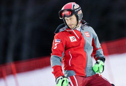 Platz 12 in Adelboden macht Christian Hirschbühl Mut.gepa