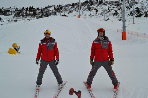 Daniel und Michael Huber freuen sich über das sehr positive Feedback seitens der FIS, der Athleten und der Medien.BI