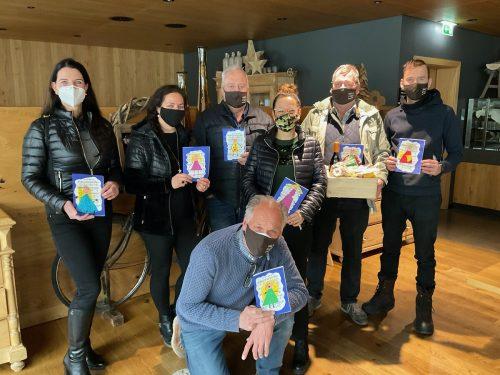 Das familieplus-Team (v.l.): Sonja Krönung, Gülü Neuschmied, Koni Fritsche, Patricia Bitschi, Frani Beck, Daniel Tauscher und vorne Initiator Edi Mayer.gemeinde