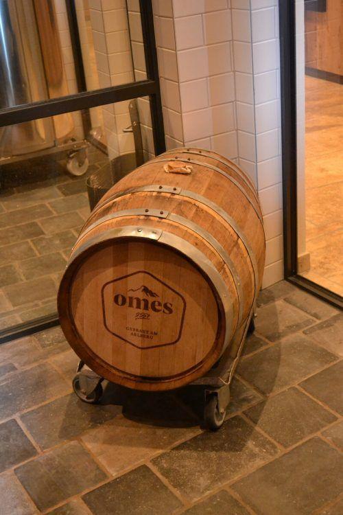 Das hauseigene Bier ist nach dem Omeshorn benannt.