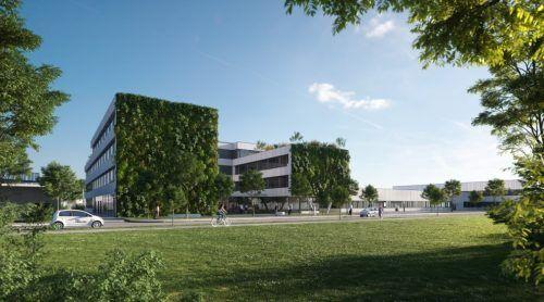 Das Verwaltungsgebäude entspricht dem Gold-Standard der Deutschen Gesellschaft für Nachhaltiges Bauen (DGNB). EBR