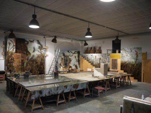 "Das Werk ""Hortus Sancti Augustini"" soll im April 2021 fertiggestellt sein."