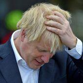 """<p class=""""factbox"""">Der britische Premier Johnson steht derzeit wegen eines Radausflugs - ein möglicher Bruch der Coronaregeln - unter Druck.AFP</p>"""