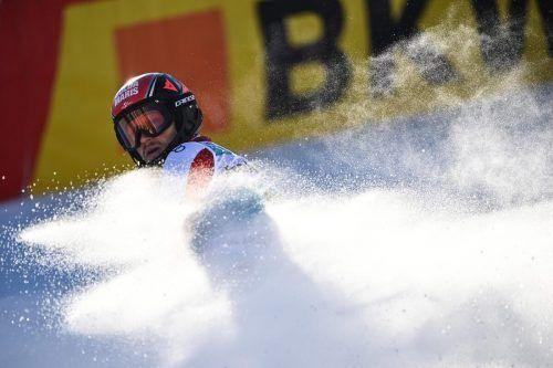 """Der für den SV Riefensberg startende Christian Hirschbühl ließ es beim Slalom in Adelboden mit Platz zwölf """"stauben"""". apa"""