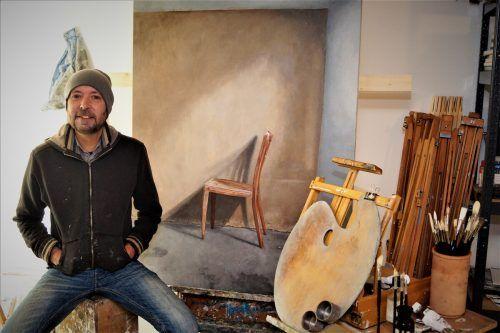 Der gebürtige Niederländer Hartwig Egmont in seinem Atelier.yas (2)