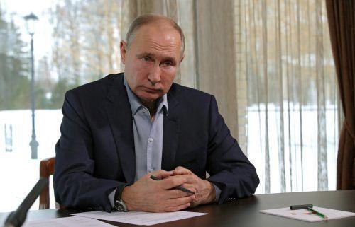 Der Luxus-Palast gehöre ihm nicht, sagte der Kremlchef. AP
