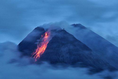 Der Merapi gilt als einer der gefährlichsten Vulkane der Welt. afp