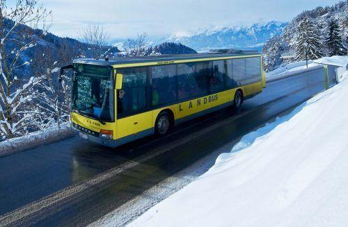 Der Nebensaisonfahrplan beim Landbus Montafon wird bis mindestens Ende Februar verlängert.VVV