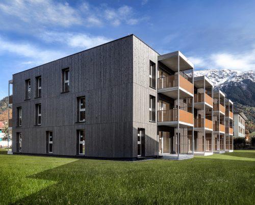 Die 15 Wohneinheiten umfassende Anlage im Schrunser Auweg konnte unlängst von den ersten Bewohner bezogen werden. PURELIVIN