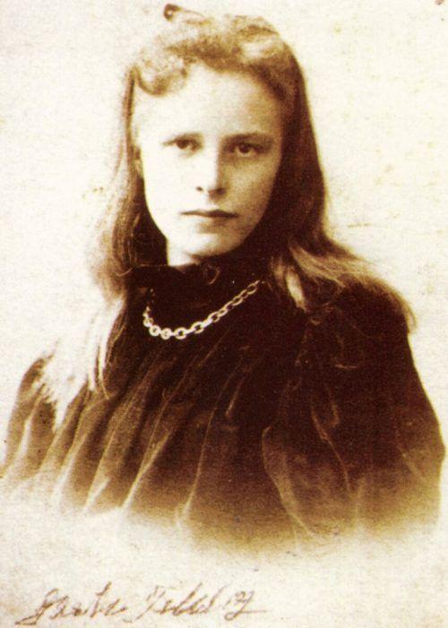 Die bekannte Bludenzer Autorin Grete Gulbransson in jungen Jahren.Stadtarchiv