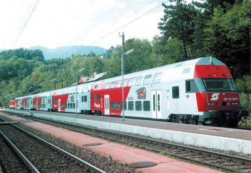 """Die drei Doppelstockgarnituren auf Vorarlbergs Schienen erhalten ein """" Upgrade auf ÖBB-Cityjet-Niveau"""", wie es von den ÖBB auf VN-Anfrage heißt. VN"""