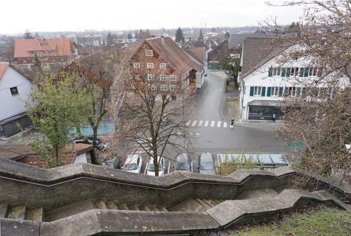 Grunderwerb für Gestaltung des Dorfzentrums.
