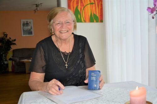 Die gebürtige Kroatin hat eine Vorliebe fürs Schreiben und hat dabei eine meditative Erfahrung gemacht.eh