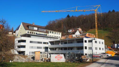 Die Neubauten beim ehemaligen Kurhaus Adler konnten bereits fertiggestellt werden. Egle
