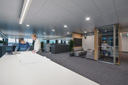 Die neuen Büroflächen von Intemann. Das Unternehmen beschäftigt 90 Mitarbeiter. intemann