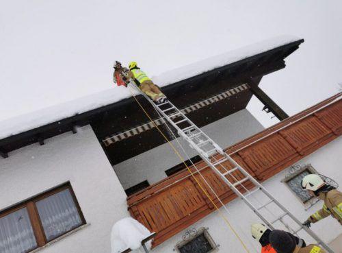 Die Rettungsaktion der Feuerwehr für die Pastoor-Katze war erfolgreich.feuerwehr