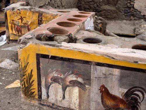 Die Schank war schon 2019 in Teilen ausgegraben worden.Handout/Reuters