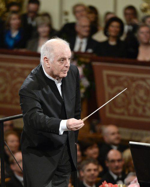 Dirigent Daniel Barenboim tritt wieder bei den Salzburger Festspielen auf. APA