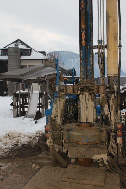 In Bezau findet Bauarbeiten am Dorfbach statt.