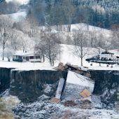 Leiche nach Erdrutsch in Norwegen gefunden